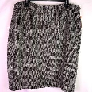 Caslon 🔴Sheath Wool Blend Skirt